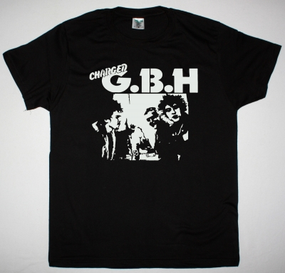 GBH BAND PHOTO NEW BLACK T SHIRT