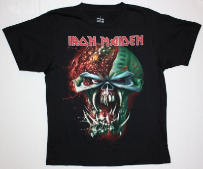 IRON MAIDEN HEAD TOUR 2011 NEW RARE T-SHIRT