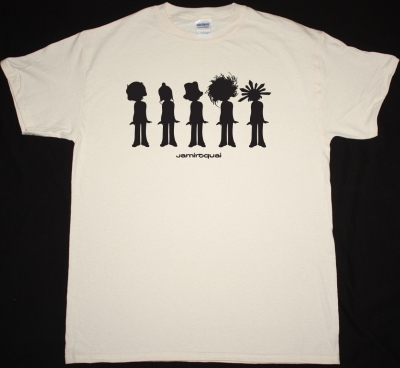 JAMIROQUAI EVOLUTION NEW NATURAL COLOR T-SHIRT