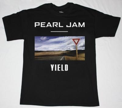 PEARL JAM YIELD'98 NEW BLACK T-SHIRT