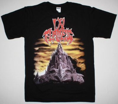 IN FLAMES THE JESTER RACE NEW BLACK T-SHIRT