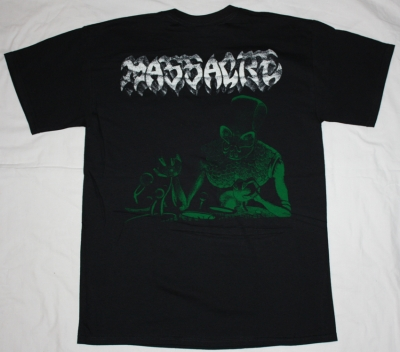 MASSACRE INHUMAN CONDITION '92 NEW BLACK T-SHIRT