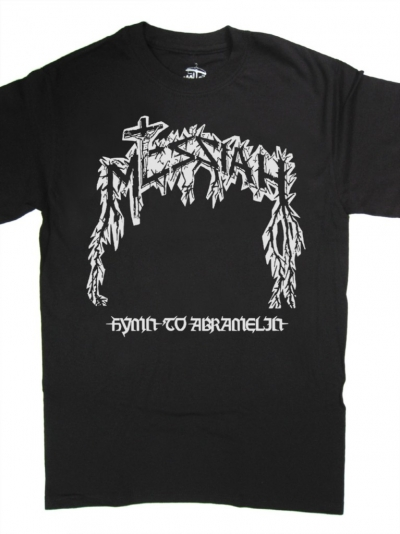 MESSIAH HYMN TO ABRAMELIN NEW BLACK T-SHIRT