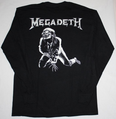 MEGADETH MARY JANE'88  LONG SLEEVE T-SHIRT