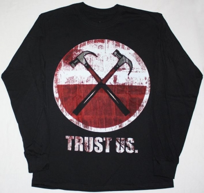 ROGER WATERS TRUST US S-XXL LONG SLEEVE T-SHIRT