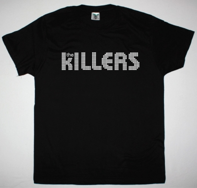THE KILLERS LOGO NEW BLACK T-SHIRT
