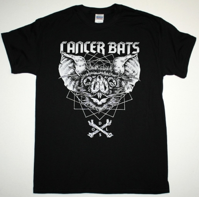 CANCER BATS BAT NEW BLACK T-SHIRT