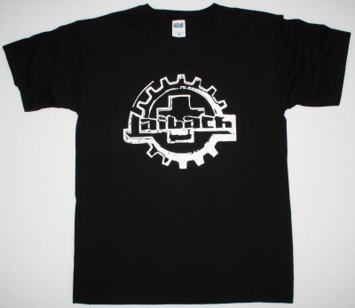 LAIBACH LOGO NEW BLACK T-SHIRT
