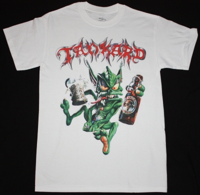 TANKARD ALIEN '89 WHITE NEW T-SHIRT