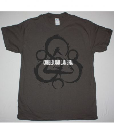 COHEED AND CAMBRIA KEYWORD SPLATTER NEW GREY T SHIRT