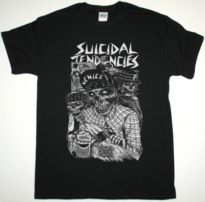 SUICIDAL TENDENCIES PEPSI NEW BLACK T-SHIRT
