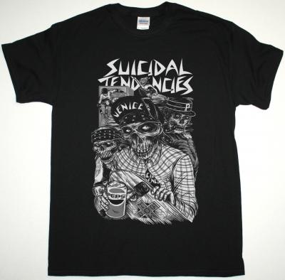 SUICIDAL TENDENCIES PEPSI NEW BLACK T-SHIRT