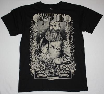 MASTODON RASPUTIN NEW BLACK T-SHIRT