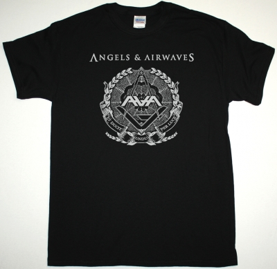 ANGELS & AIRWAVES LOGO NEW BLACK T-SHIRT
