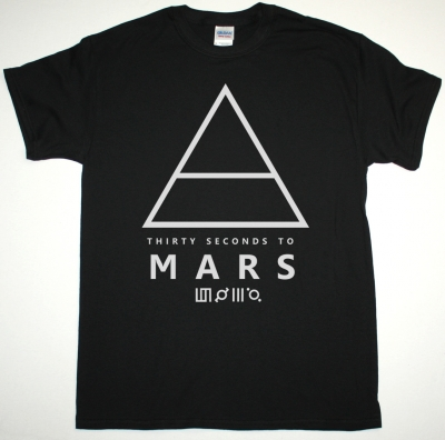 30 SECONDS TO MARS TRIAD AIR LOGO THIS IS WAR NEW BLACK T-SHIRT