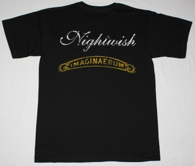 NIGHTWISH IMAGINAERUM 2011 NEW BLACK T-SHIRT