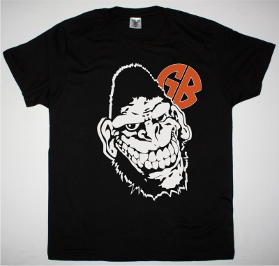 GORILLA BISCUITS HUGE GORILLA NEW BLACK T SHIRT