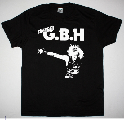 GBH COLIN NEW BLACK T SHIRT