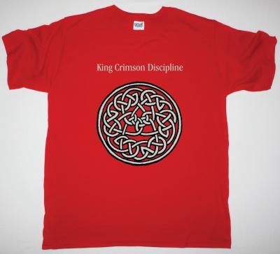 KING CRIMSON DISCIPLINE NEW RED T-SHIRT