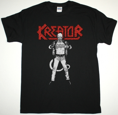 KREATOR TERRIBLE CERTAINTY NEW BLACK T SHIRT