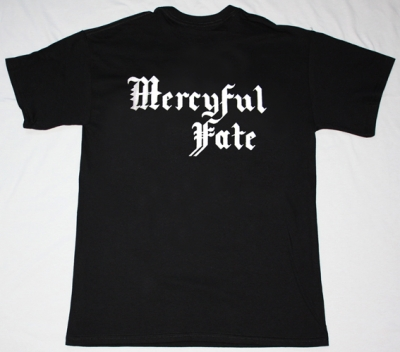MERCYFUL FATE IN THE SHADOWS NEW BLACK T-SHIRT