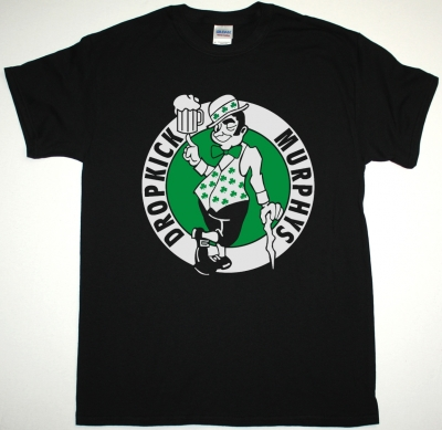 DROPKICK MURPHYS CELTIC WAY NEW BLACK T-SHIRT