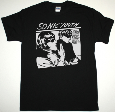 SONIC YOUTH GOO NEW BLACK T-SHIRT