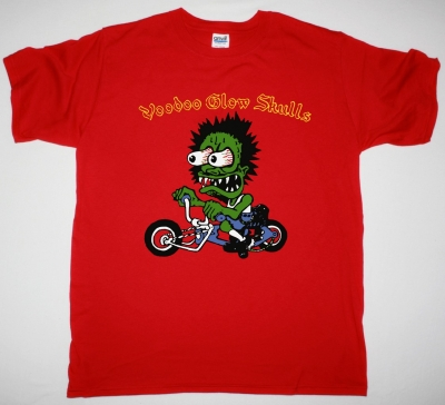 VOODOO GLOW SKULLS FIRME NEW RED T-SHIRT