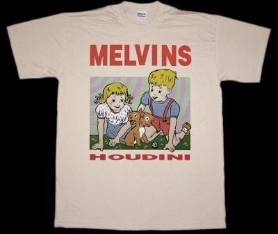 MELVINS HOUDINI NEW NATURAL COLOR T-SHIRT
