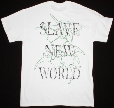 SEPULTURA SLAVE NEW WORLD'93 NEW WHITE T-SHIRT