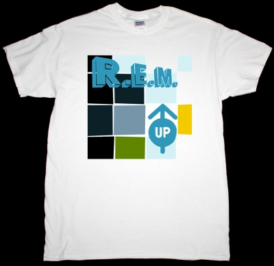 R.E.M. UP NEW WHITE T-SHIRT