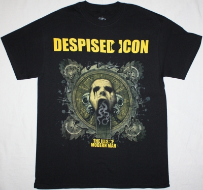 DESPISED ICON ILLS OF MODERN MAN METALCORE NEW BLACK T-SHIRT