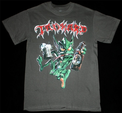 TANKARD ALIEN'89 NEW GREY T-SHIRT
