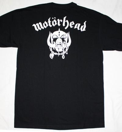 MOTORHEAD ALL THE ACES NEW BLACK T-SHIRT