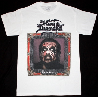 KING DIAMOND CONSPIRACY'89  NEW WHITE T-SHIRT