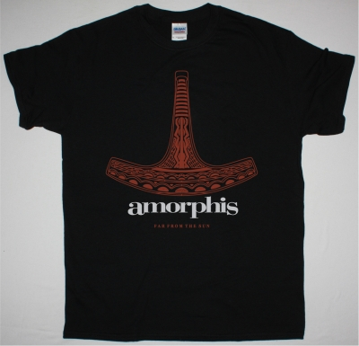 AMORPHIS FAR FROM THE SUN NEW BLACK T SHIRT