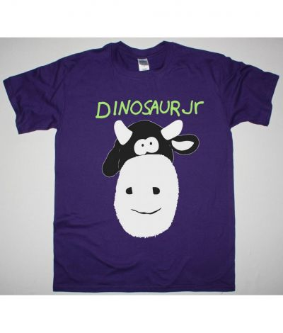 DINOSAUR JR. COW NEW PURPLE T SHIRT
