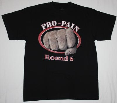 PRO-PAIN ROUND 6 NEW BLACK-TSHIRT