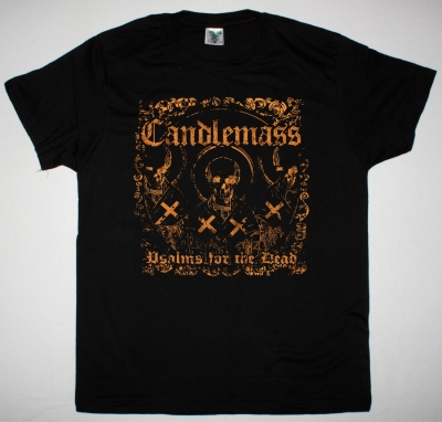 CANDLEMASS PSALMS FOR THE DEAD NEW BLACK T-SHIRT