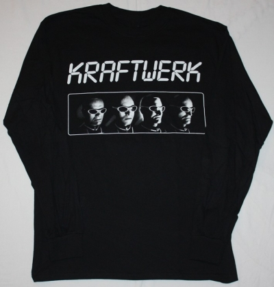 KRAFTWERK DEN ATELIER S-XXL BLACK LONG SLEEVE T-SHIRT