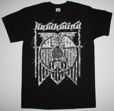 HAWKWIND DOREMI FASOL LATIDO NEW BLACK T-SHIRT