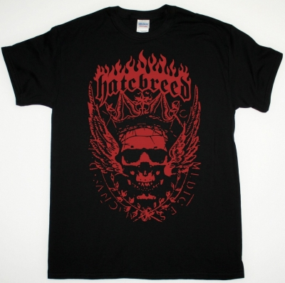 HATEBREED CROWN  NEW BLACK T SHIRT