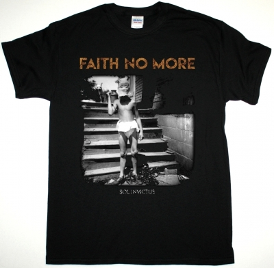 FAITH NO MORE SOL INVICTUS 2015 NEW BLACK T-SHIRT