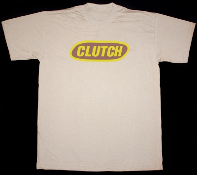 CLUTCH CLASSIC LOGO NEW NATURAL COLOR T-SHIRT