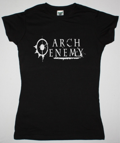ARCH ENEMY LOGO NEW BLACK LADY T-SHIRT
