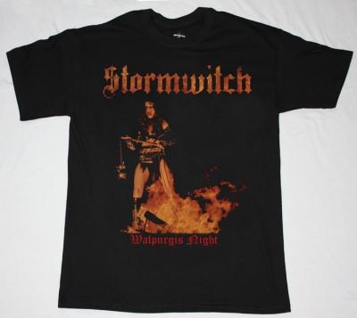 STORMWITCH WALPURGIS NIGHT'84  NEW BLACK T-SHIRT