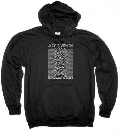 JOY DIVISION UNKNOWN PLEASURES 79 NEW BLACK HOODIE