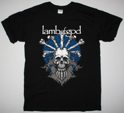 LAMB OF GOD MANDALA NEW BLACK T-SHIRT