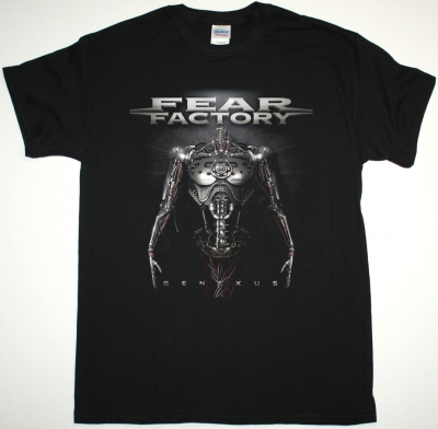 FEAR FACTORY GENEXUS NEW BLACK T SHIRT