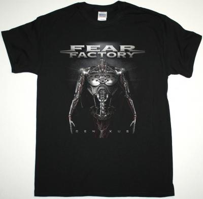 FEAR FACTORY GENEXUS NEW BLACK T SHIRT